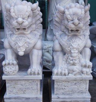 สิงโตปักกิ่ง ขนาด สูง 90 ซม. 1 คู่