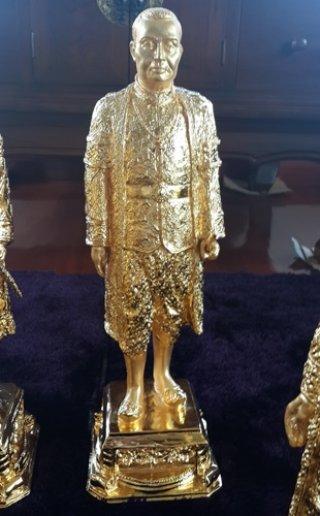 รูปหล่อทองเหลืองรัชกาลที่ 3 สูง 50 ซม.