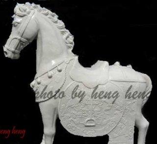 ม้า มงคล หินอ่อนสูง 140 ซม.