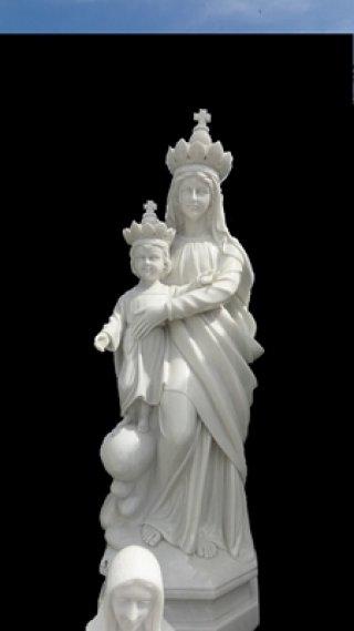 พระแม่มารีย์อุมพระเยซู สูง 2 เมตร
