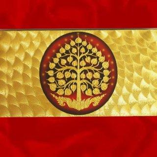 ภาพต้นโพธิ์ทองคำ งานปิดทองคำแท้