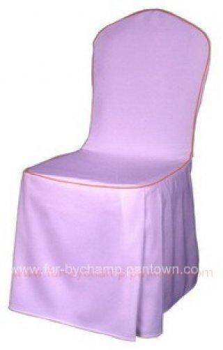 ผ้าคลุมเก้าอี้จัดเลี้ยง จีบเรียงด้านข้าง