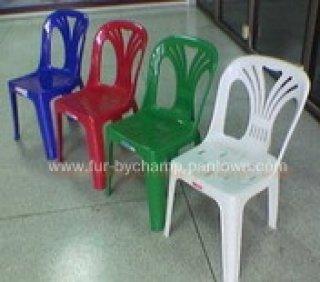 เก้าอี้พลาสติก มีพนักพิง
