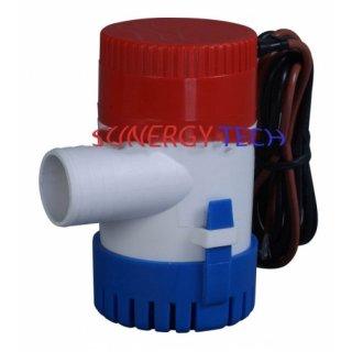 ปั๊มน้ำดีซี 12V แบบจุ่ม 2700 ลิตร/ชม.