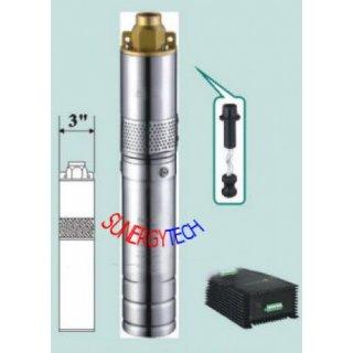 โซล่าปั๊ม สูบน้ำลึก 64 ม. 760 ลิตร/ชม.