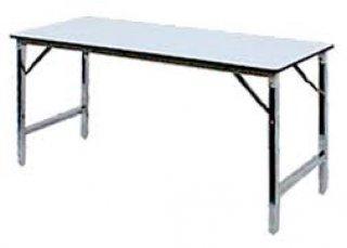 โต๊ะพับหน้าโฟเมก้าขาวหรือเมลามีน