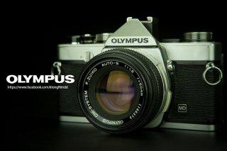 กล้องฟิล์ม Olympus สีเงิน