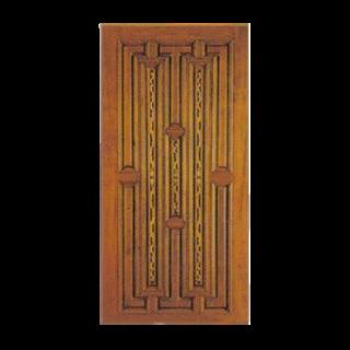 ประตูไม้สัก