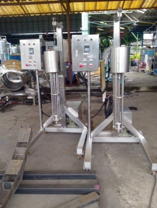 Tubing and clamping Machinery