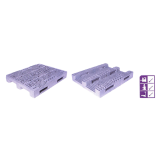 พาเลทพลาสติก รุ่น ES 0812 ES 1012 ES 1212