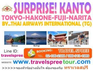 ทัวร์โตเกียว SURPRISE KANTO (TOKYO 5 วัน 3 คืน)