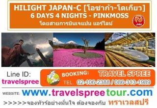 ทัวร์ญี่ปุ่น HILIGHT JAPAN-C (โอซาก้า-โตเกียว) 6 วัน 4 คืน