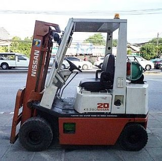 Nissan Forklift 2 Tons New Model - Compact