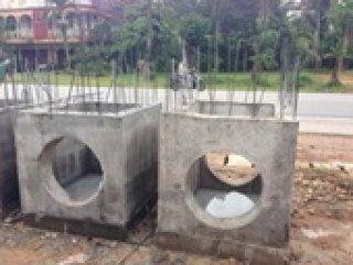 ท่อระบายน้ำคอนกรีต