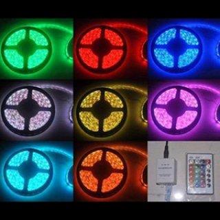 ไฟริบบิ้น 5050 เปลี่ยนสีได้