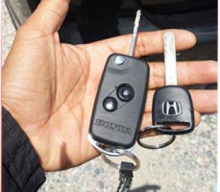 รับทำกุญแจ honda ฮอนด้าแบบพับ
