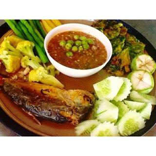 น้ำพริกปลาทูอยุธยา