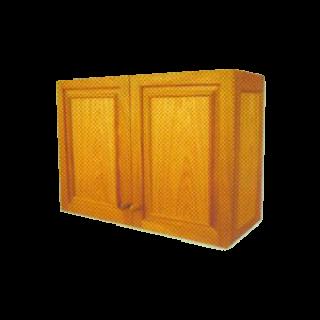 ตู้ครัวไม้สัก ขนาด กว้าง 90 สูง 80 ลึก 50