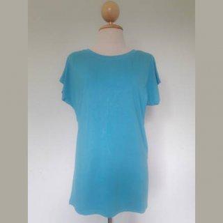 เสื้อให้นมแขนในตัว สีฟ้าน้ำทะเล
