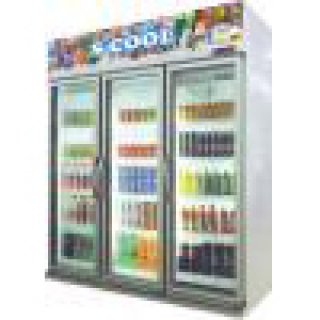Beverage Chiller Mini Mart 3-door model TJ3LS
