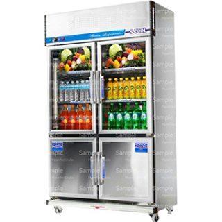 Beverage Chiller Mini Mart 2-door model TJ2LS