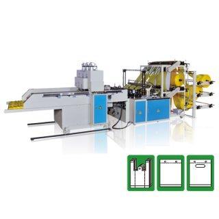 เครื่องตัดและซีลถุงพลาสติกอัตโนมัติ CWA2+6+P-SV