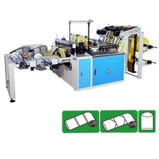 เครื่องผลิตถุงพลาสติกพร้อมทำรอยปรุ CWAAP-SV