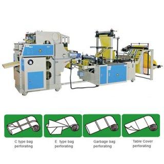 เครื่องผลิตถุงพลาสติกพร้อมทำรอยปรุ CWAP+C-SV