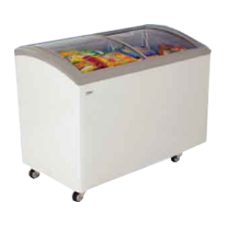 Curved glass freezer HAIER Haier SD-332 Size 9.2 queue