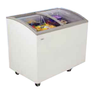 Curved glass freezer HAIER Haier SD242A size 6.9 queue