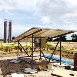 ปั๊มน้ำดีซีพลังงานแสงอาทิตย์