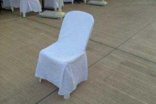 ผ้าคลุมเก้าอี้พลาสติก เบาะนวม