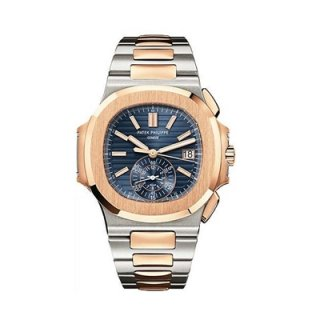 รับซื้อนาฬิกา Patek Philippe 5980/1AR-001 - Stainless Steel and Rose Gold - Men - Nautilus