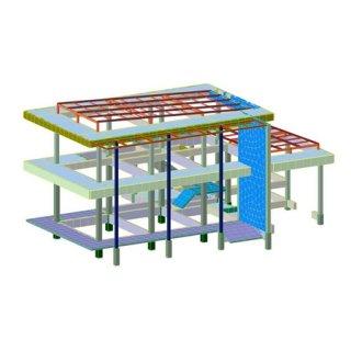 รับออกแบบโครงสร้างห้างสรรพสินค้า