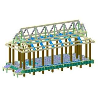 รับออกแบบโครงสร้างอุโบสถ