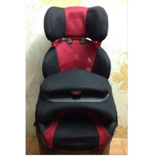 บูสเตอร์ซีท Ailebebe รุ่น Juride สีดำแดง6