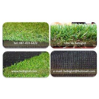 หญ้าเทียม Gุ6_b รุ่นประหยัด ความสูง 3 cm.