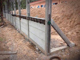 รับทำกำแพงรั้วกั้นดิน