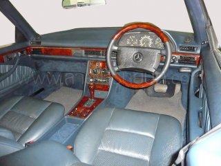 ลายไม้ BENZ W126