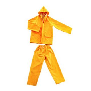 ชุดป้องกันสารเคมี แบบเสื้อ+กางเกง
