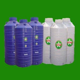 ถังพลาสติกเก็บน้ำบนดิน