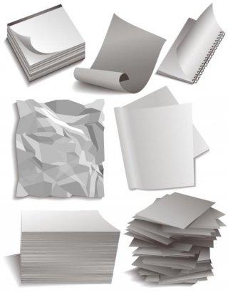 รับซื้อเศษกระดาษขาวดำ กระดาษสี