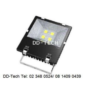 โคม LED Floodlight Bridgelux chip + Meanwell Driver