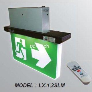 ไฟสำรองฉุกเฉิน LED Emergency Exit Sign รุ่นฝังฝ้า