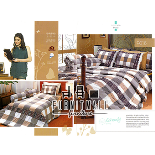 ชุดผ้าปูที่นอน SATIN รุ่น P016
