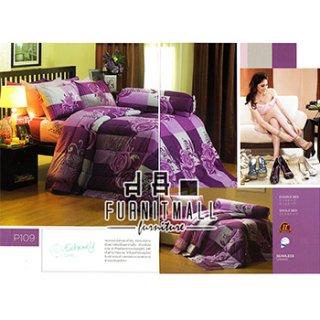 ชุดผ้าปูที่นอน SATIN รุ่น P109