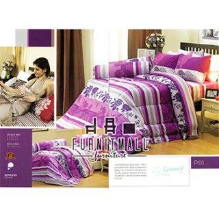 ชุดผ้าปูที่นอน SATIN รุ่น P111