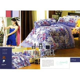 ชุดผ้าปูที่นอน SATIN รุ่น P114