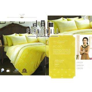 ชุดผ้าปูที่นอน SATIN รุ่น PC001