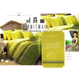 ชุดผ้าปูที่นอน SATIN รุ่น PC014